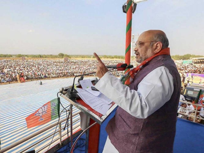 DC files report to ECI on plaint against BJP chief Amit Shah