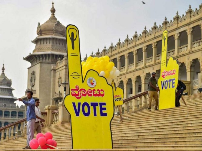 Parties slug it out to conquer Bengaluru