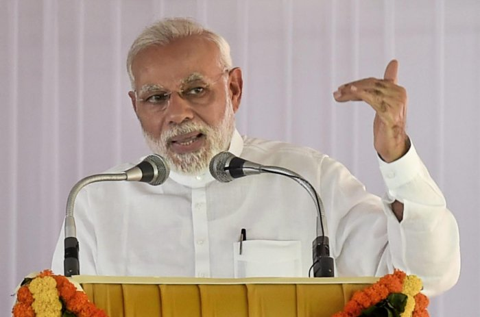 Best way to serve Ambedkar's ideals is not to do politics in his name: PM