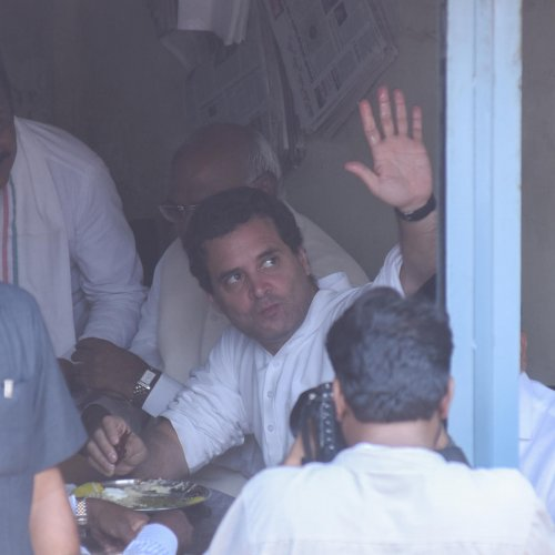 Party time of a different kind for Rahul & co. in D'gere