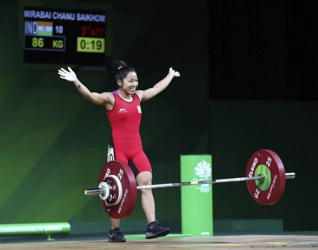 Record-breaking Mirabai claims India's first gold of 21st CWG