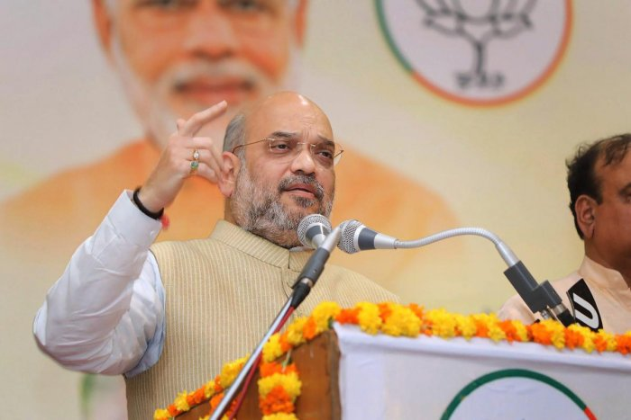 Rahul inciting hatred in society, says Shah