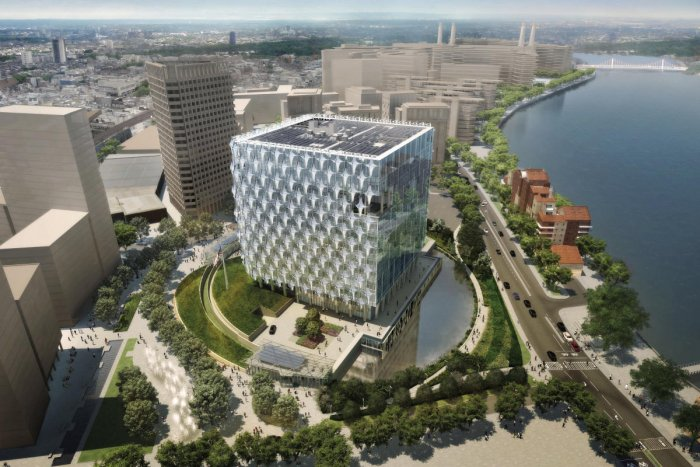 New state-of-the-art U.S. Embassy in London