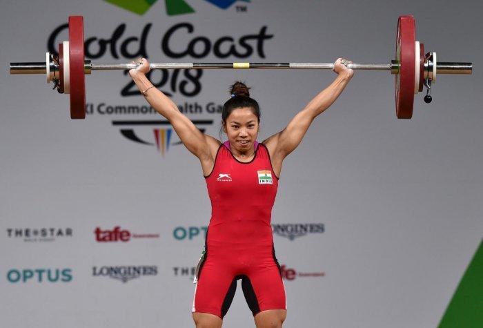 Mirabai lifts Indian spirits on opening day
