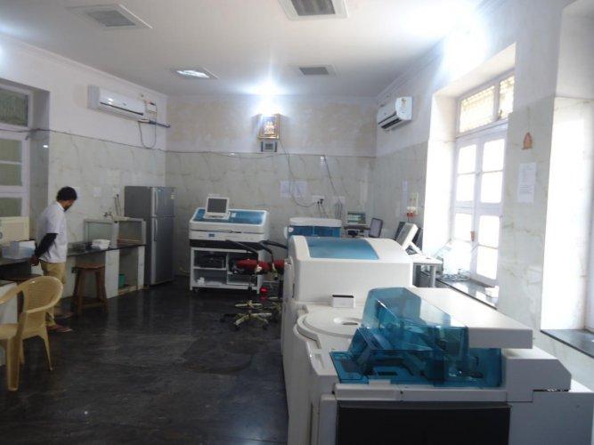 KR Hospital gets new centralised blood test lab