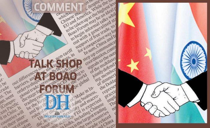 Talk shop at Boao Forum