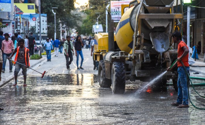 Church Street to be washed once a week