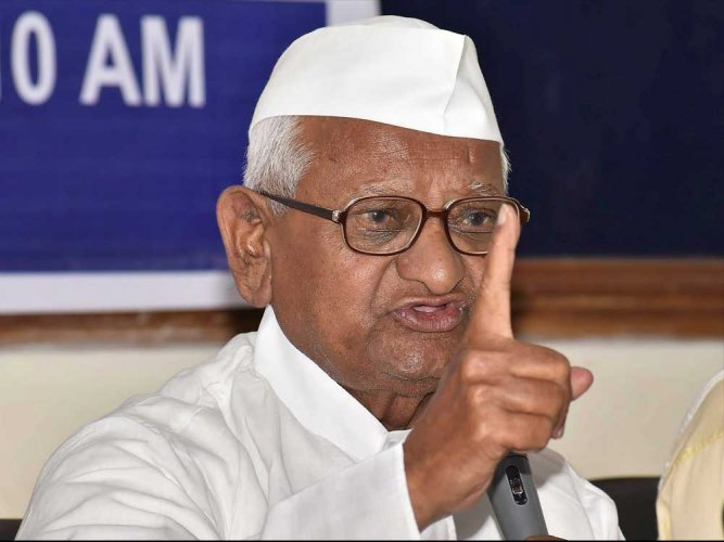 Bid to tarnish my image by linking me, movement with RSS: Anna Hazare