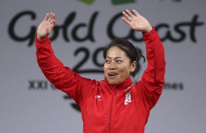 Sanjita Chanu adds to weightlifting gold rush, breaks one CWG record