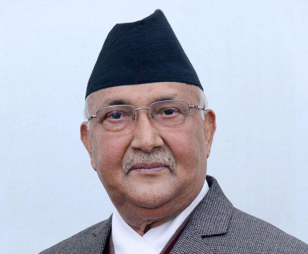 Nepal PM Oli arrives on three-day visit