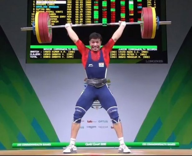 Lucky Lather adds bronze to India's weightlifting CWG medal surge
