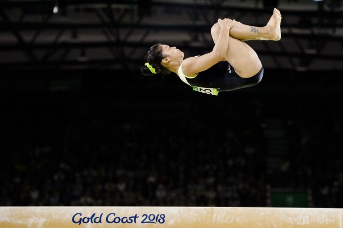 Reddy fails but two others qualify for final round in women's gymnastics