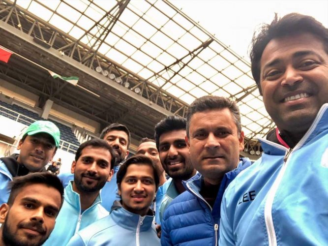Davis Cup:Leander Paes becomes most successful doubles player