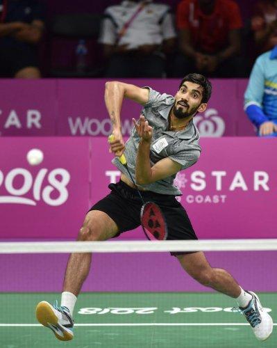 Srikanth leads India into semis
