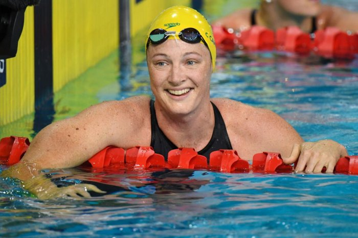 Campbell soars to second gold