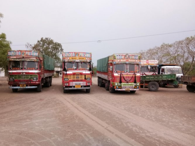 200 lorry loads of sand seized