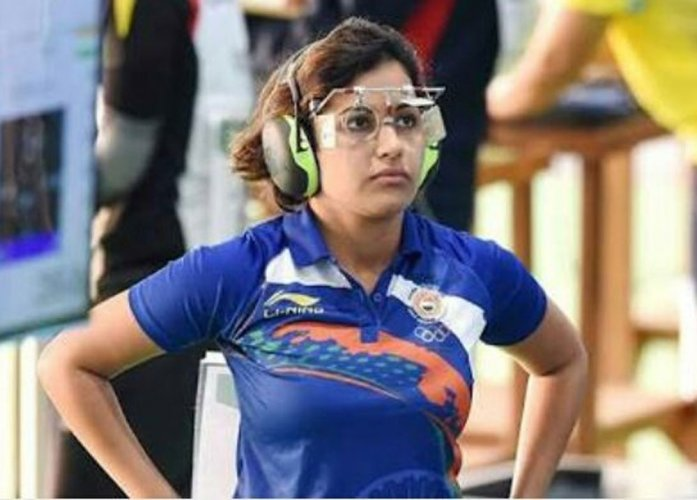 Bhaker, all of 16, runs away with 10m pistol gold at CWG
