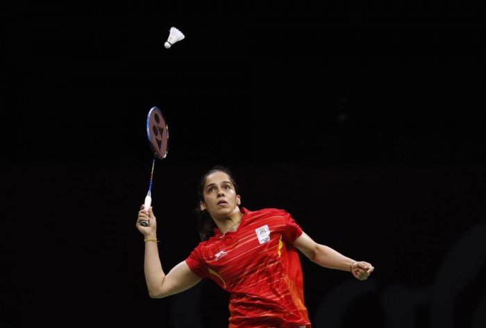 Clinical Saina stars as India enter badminton mixed team finals at CWG
