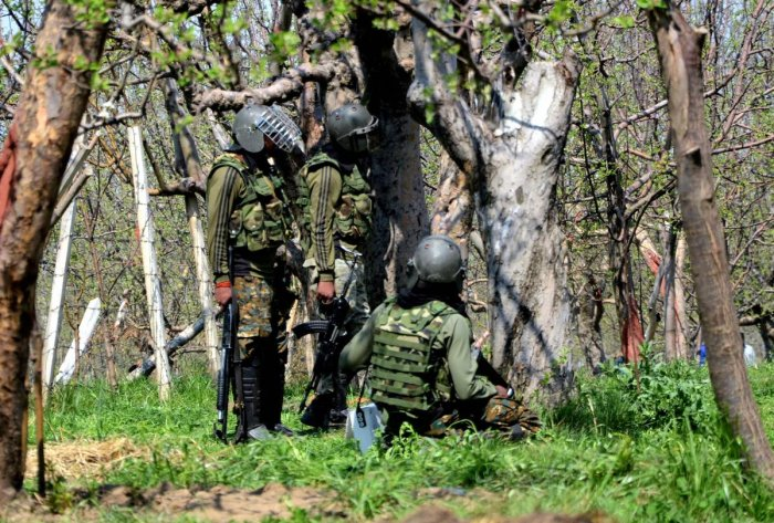 As forces battle militants in south Kashmir, foreign ultras in north take roots