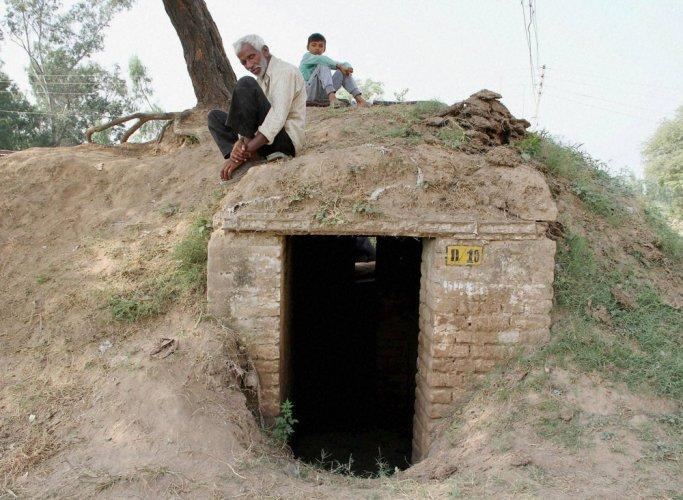 100 bunkers completed along LoC