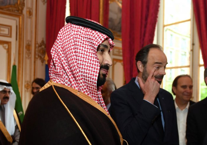 Saudi crown prince wraps up his official visit to France