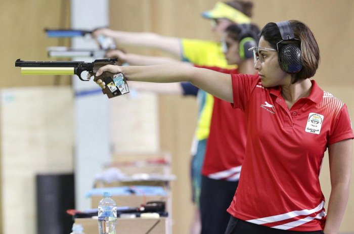 Heena Sidhu adds a third gold to India's shooting kitty in CWG