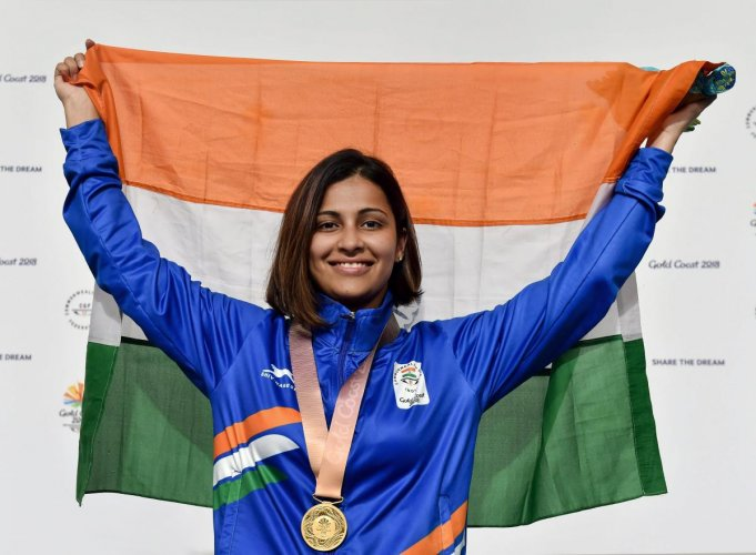 Sidhu adds to shooting gold tally