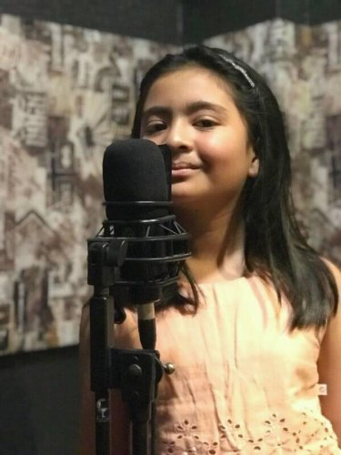 Reality show singer is lone girl in all-boys school