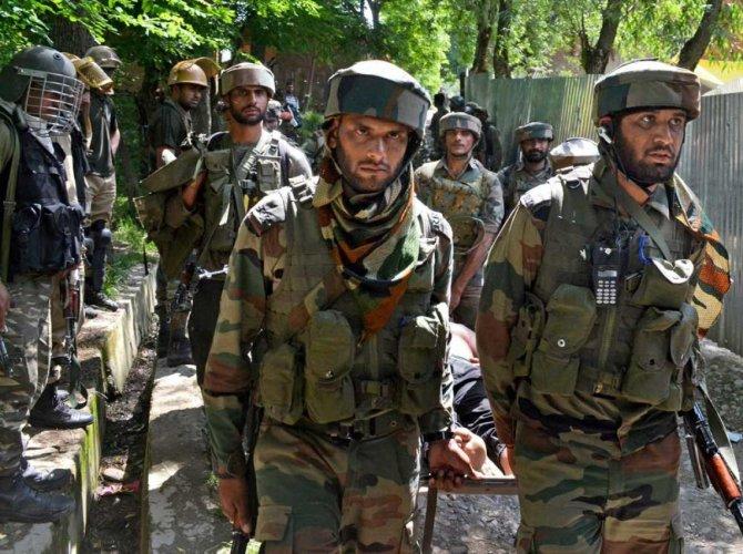 J-K: Civilian killed, 3 security personnel injured in encounter