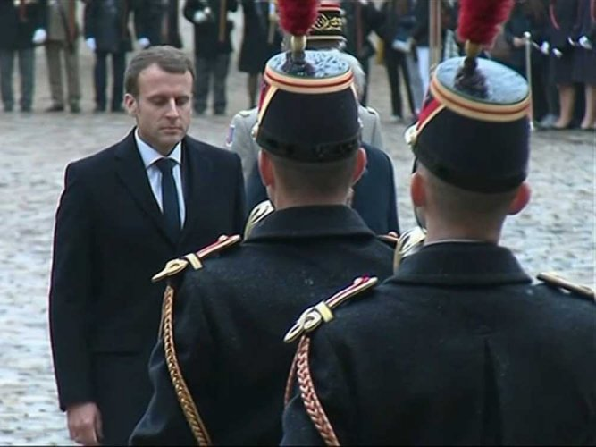 High stakes for Macron as France weighs Syria strike