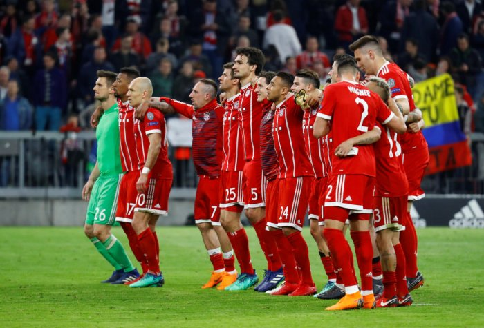 Bayern toil but overcome Sevilla