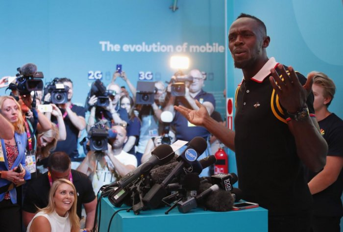 Bolt happy to be an inspiration
