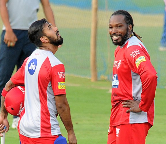 Gayle returns to his 'second home'