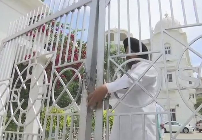 Sikh groups in Punjab, Haryana protest against 'Nanak Shah Fakir' release