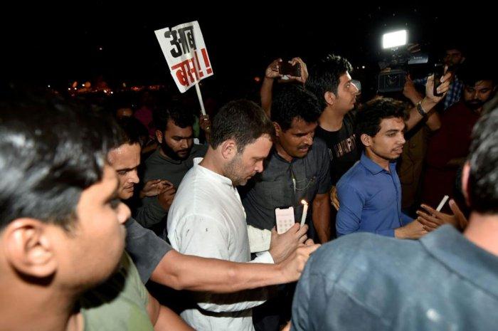 PM's silence unacceptable, says Rahul