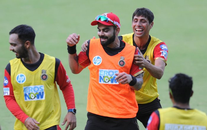 RCB face stern Rajasthan test