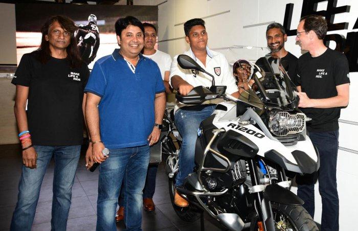 Tusker BMW sells 100th bike on first anniversary