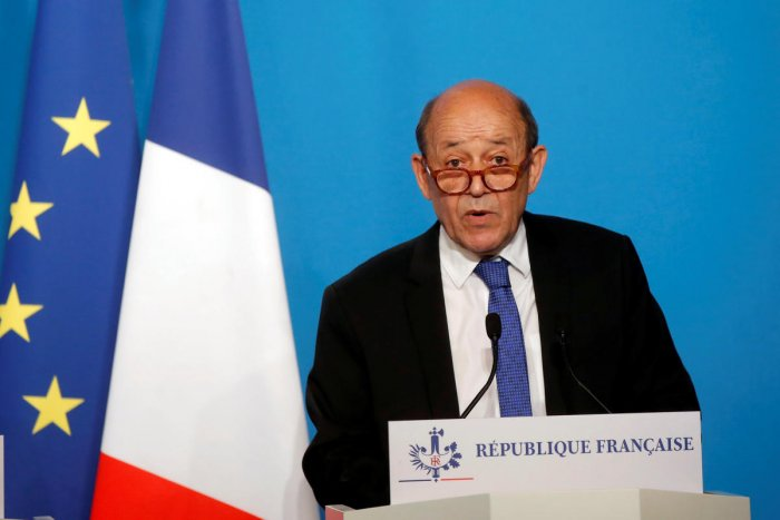 France urges Russia to join peace push after Syria strike