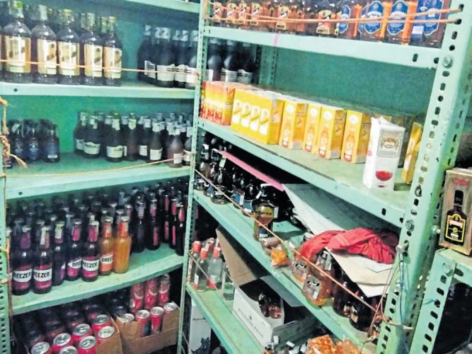 Man arrested for storing liquor for 'Roce'