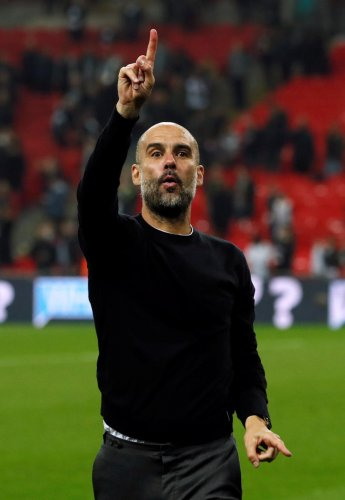NUMERO UNO Immensely successful with Barcelona and Bayern Munich, Pep Guardiola has turned Manchester City into a champion outfit by employing his quick-passing game successfully. REUTERS