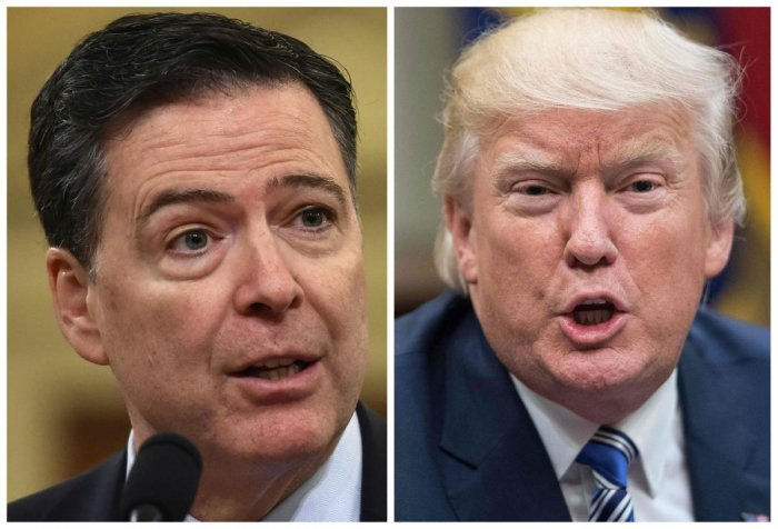 Donald Trump is 'morally unfit' to be president of the United States, former FBI director James Comey told ABC in an interview broadcast.