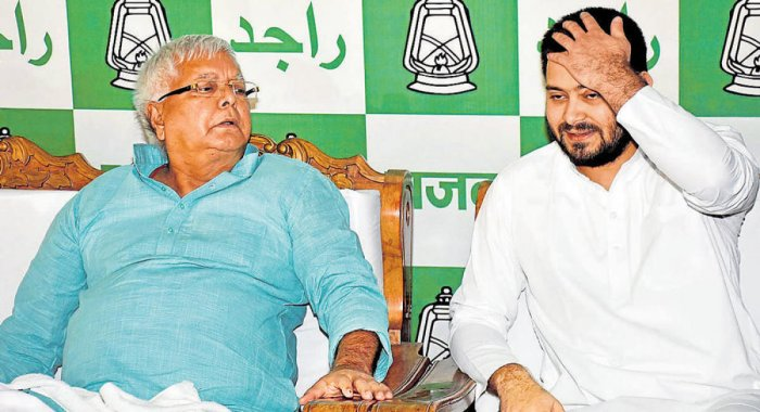 The CBI today filed a charge sheet against two companies and 12 people, including former railway minister Lalu Prasad, his wife Rabri Devi and son Tejashwi Yadav, for alleged irregularities in grant of an operational contract of two IRCTC hotels to a priv