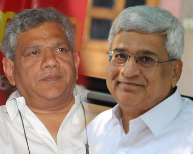 In picture: Senior CPM leader Prakash Karat and general secretary Sitaram Yechury.
