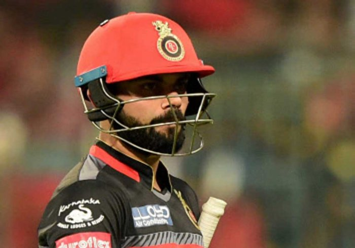 Kohli's 62-ball knock went in vain as RCB finished at 167/9 in 20 overs while chasing MI's 213/6. PTI file photo