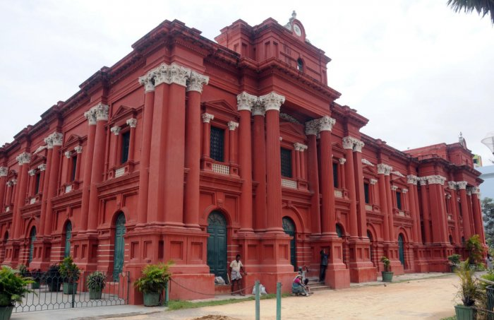 Government Museum on Kasturba Road in Bengaluru. Photo by S K Dinesh