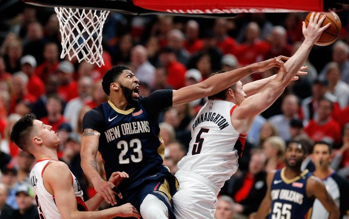 Anthony Davis had 22 points and 13 rebounds and Rajon Rondo collected 16 points, 10 rebounds and nine assists for the Pelicans, who return home for Games 3 and 4 of the best-of-seven series.