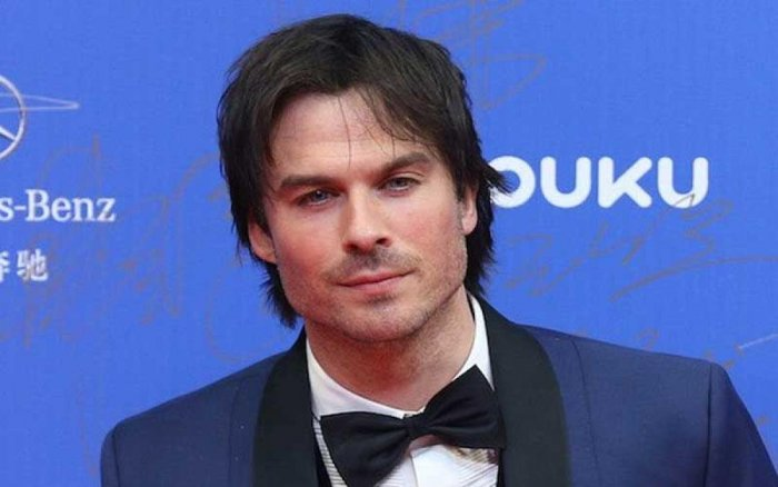 """The 39-year-old actor is popular for his role as Damon Salvatore from """"The Vampire Diaries"""""""