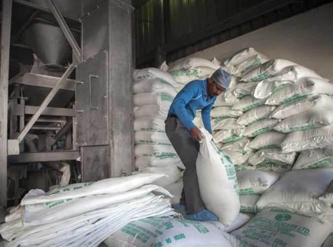 Sugar production in the country has touched an all-time high of 30 million tonnes. (DH file photo)