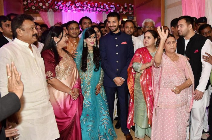 Lalu's son Tej Pratap engaged to ex-minister's daughter | Deccan Herald
