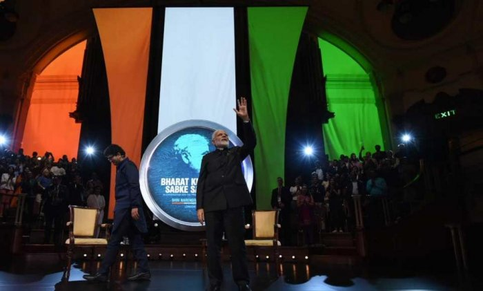 Prime Minister Narendra Modi today said days of incremental change are over and Indians have become more aspirational under the BJP-led government at the Centre, taking a dig at the previous governments and their governance of making people dependent on the state. Picture courtesy Twitter